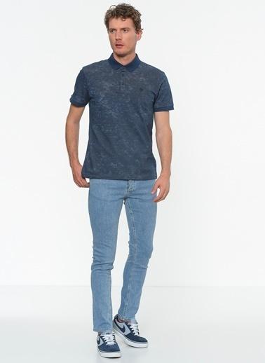 Mavi Polo Yaka Tişört  İndigo